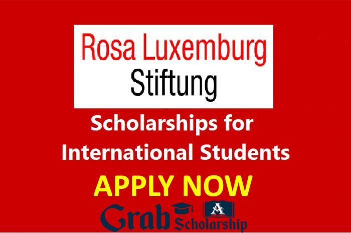 Rosa Luxemburg Stiftung Scholarships for International ...
