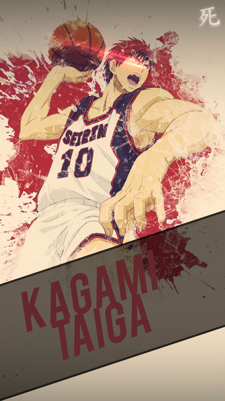 Kagami Kuroko No Basket Mobile Wallpaper HD By Chimozukideviantart On DeviantArt