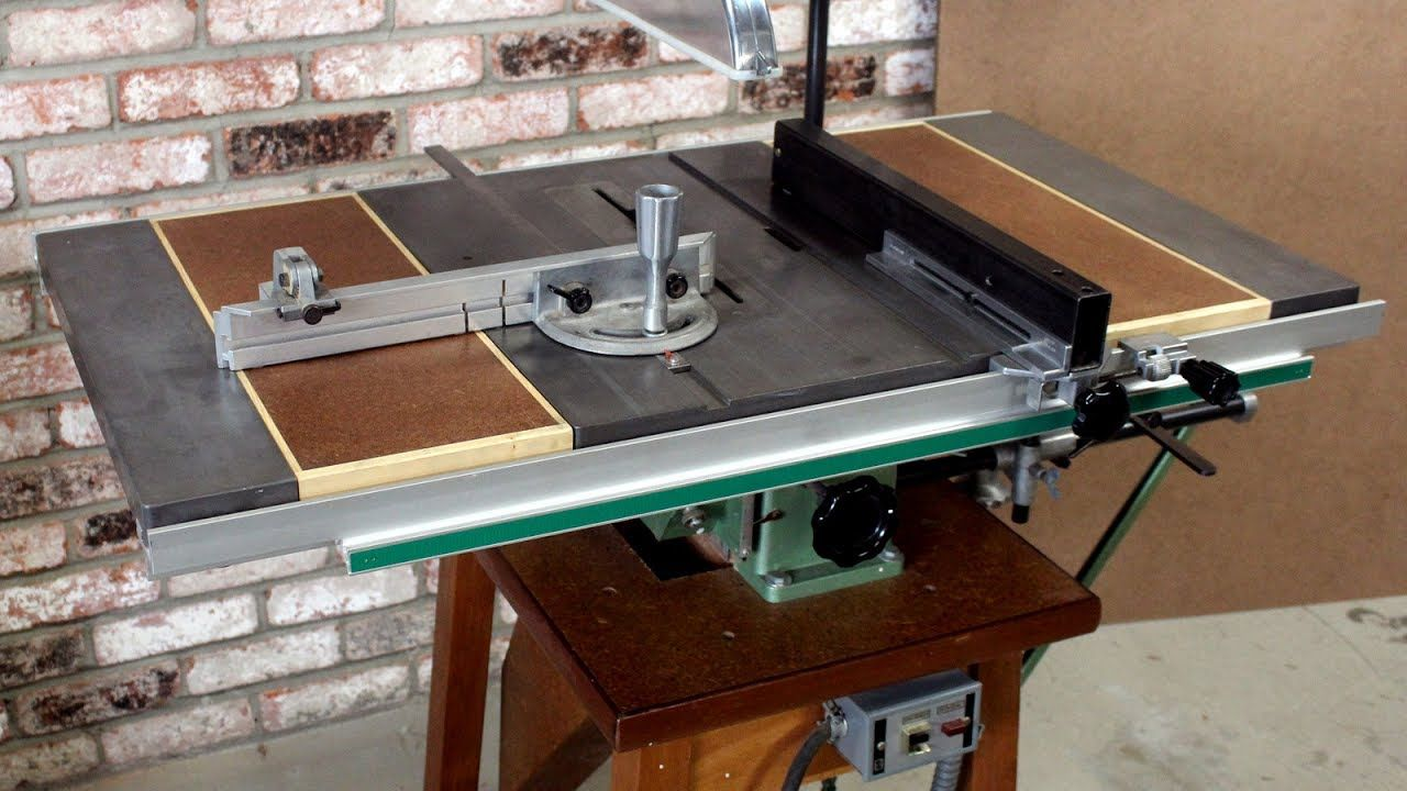 Detailed Look At Inca 259 Table Saw With Mortiser Mortiser