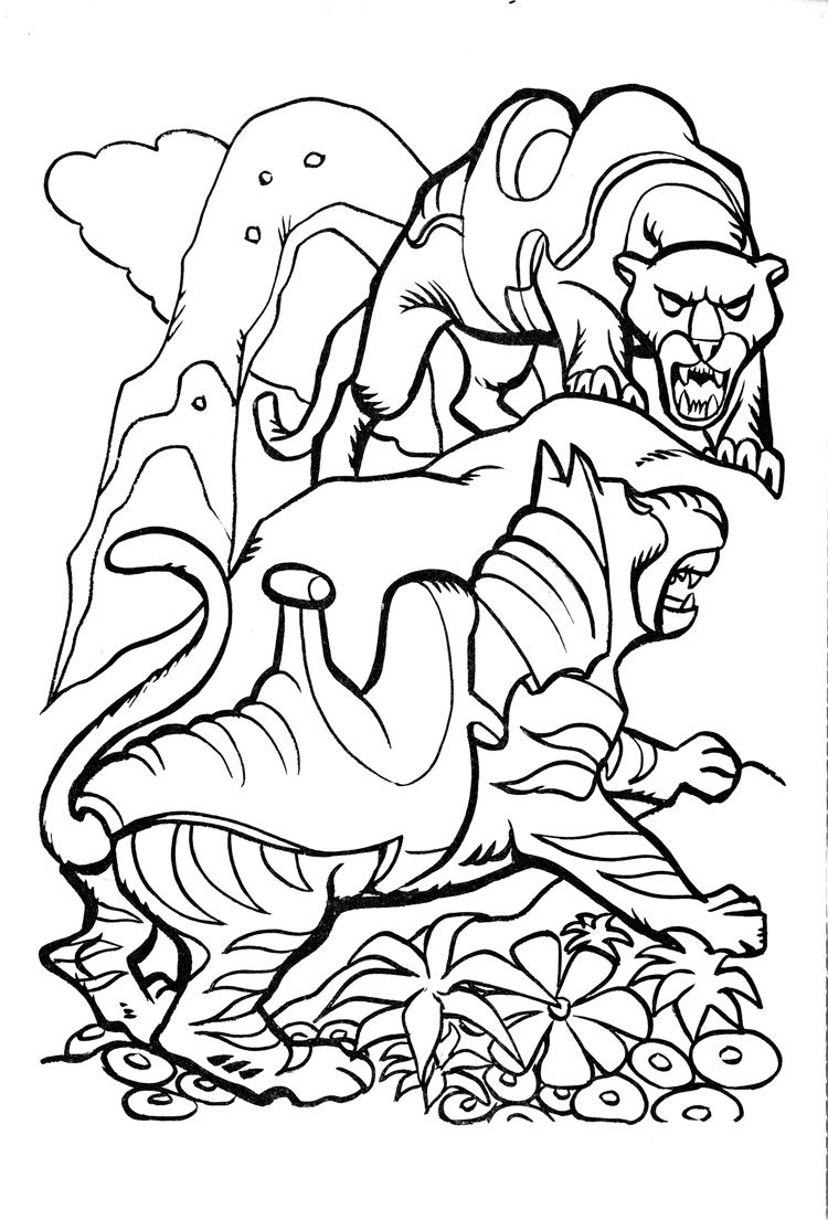 James Eatock Presents: The He-Man and She-Ra Blog!: Coloring book ...