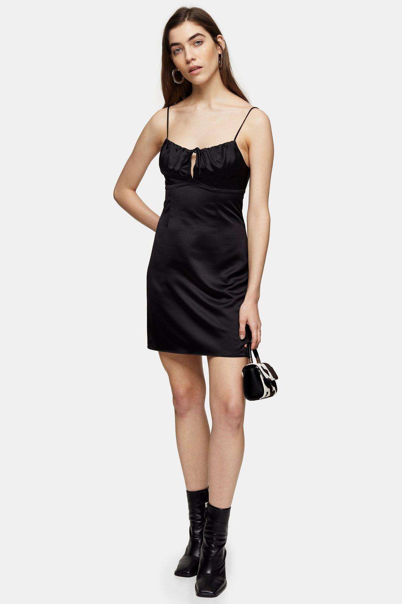 Susana Monaco Slip Dress Shopbop Slip Dress Outfit Mini Black Dress Night Dress [ 1206 x 750 Pixel ]