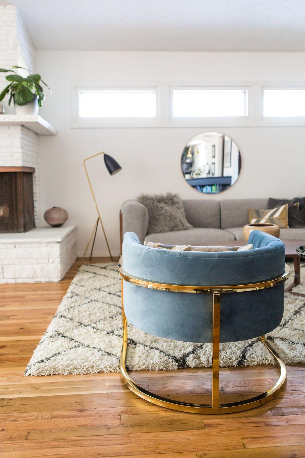 Innenarchitektur wohnzimmerfarbe via simply grove  home  pinterest  wohnzimmer wohnen und regal