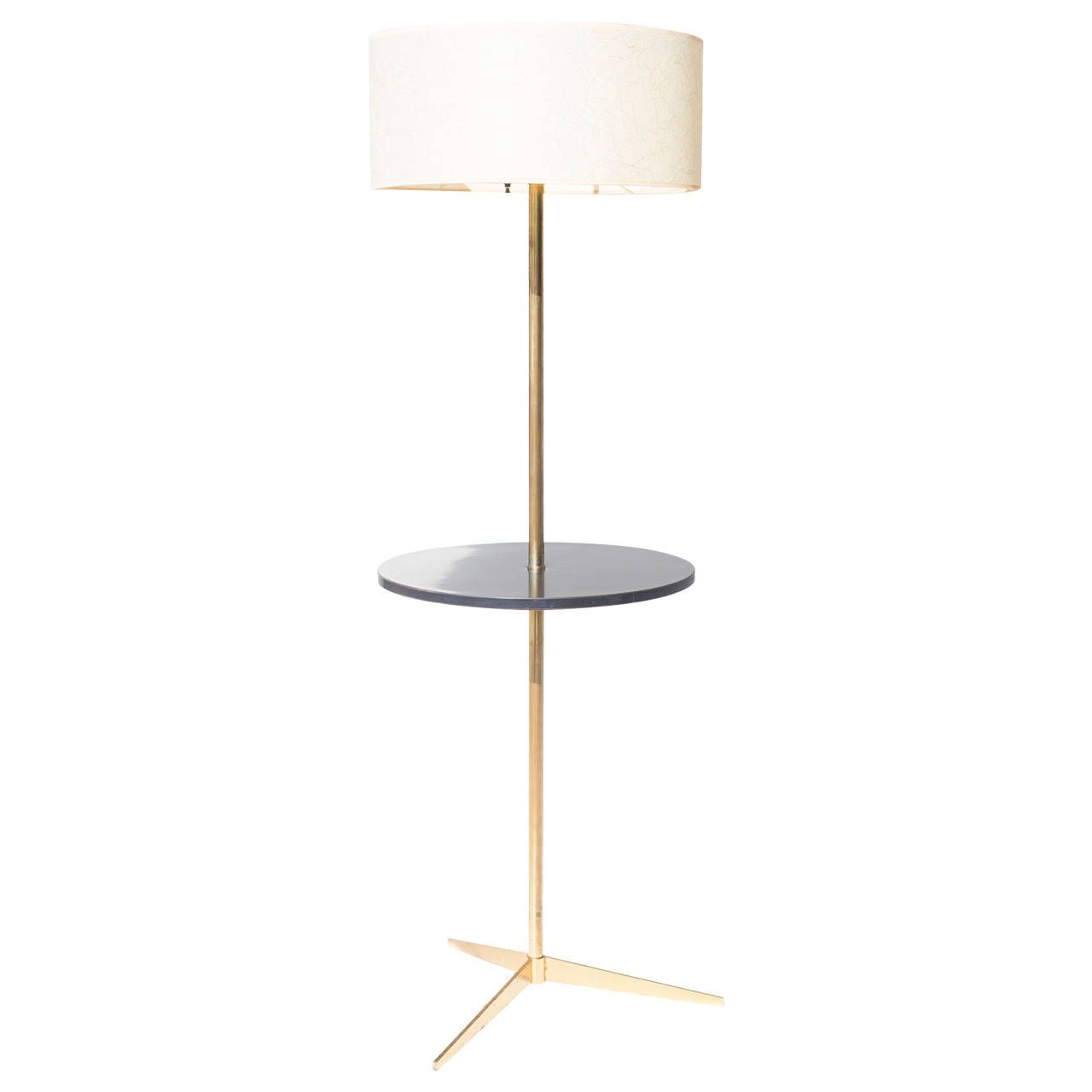 Antique floor lamp with table - Paul Mccobb Floor Lamp For Directional From A Unique Collection Of Antique And Modern Floor