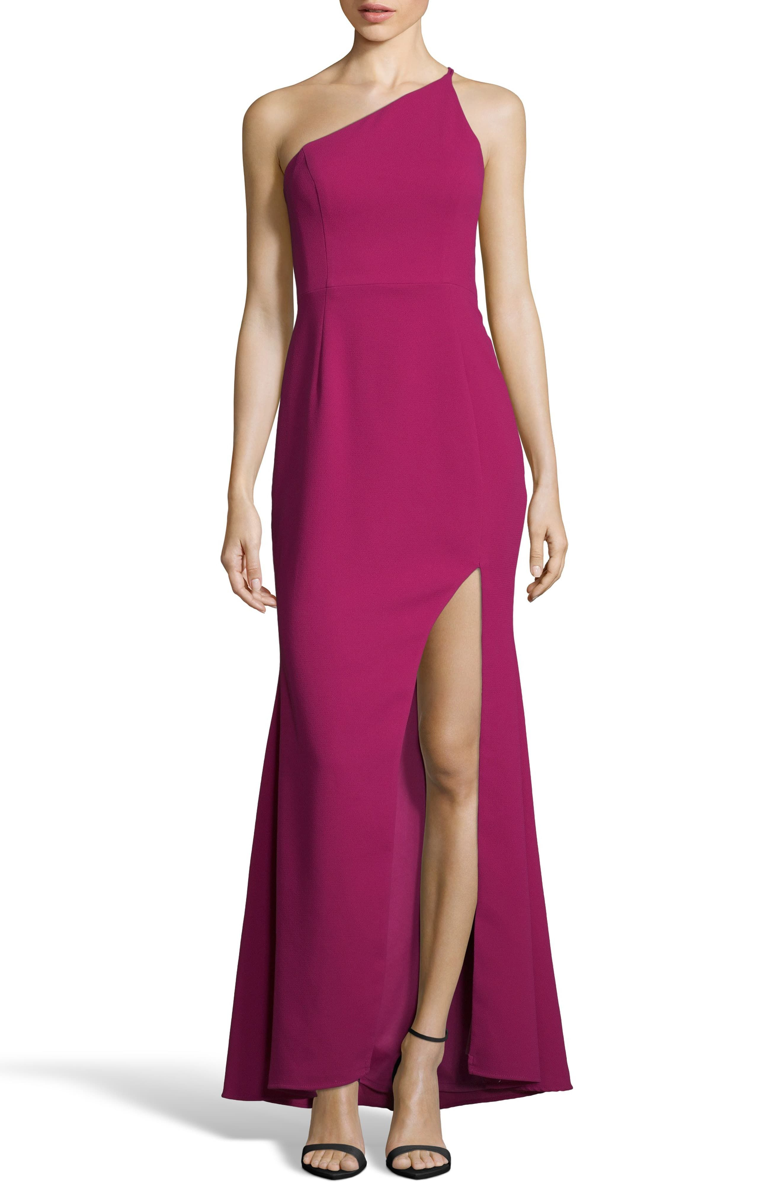 0cd58884e045 Xscape Evenings One-Shoulder Crepe Evening Dress in 2019 | Products ...