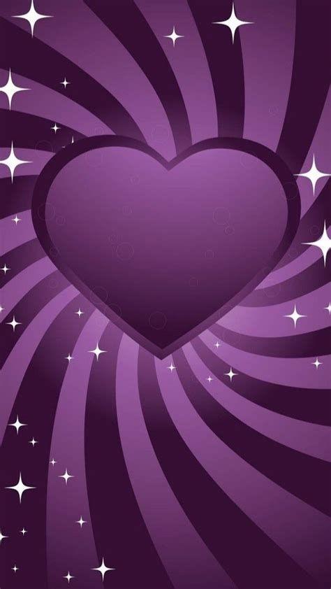 Purple Heart | Heart Iphone Wallpaper, Heart Wallpaper