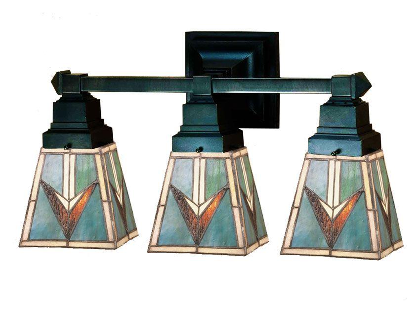 Meyda Tiffany 48042 Valencia Mission 3 Lamp Bathroom