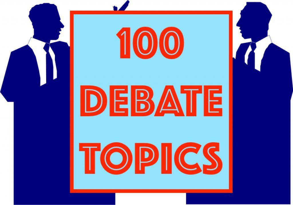 100 Interesting Debate Topics Debate Topics Interesting Debate
