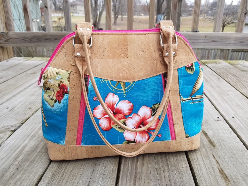 Sew Sweetness Sublime Bag sewing pattern, sewn by Bree of My Crafty ...