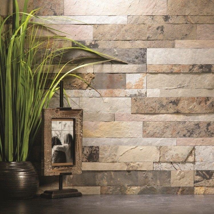 Self Adhesive Backsplash Kitchen Tile Panels Natural Stone