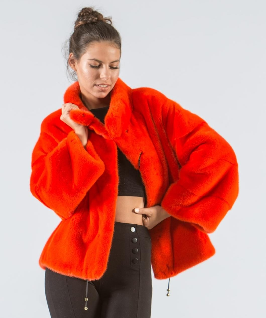 aaf28d7b317a Coral Mink Fur Jacket  coral  mink  fur  jacket  real  style  realfur   elegant  haute  luxury  chic  outfit  women  classy  online  store