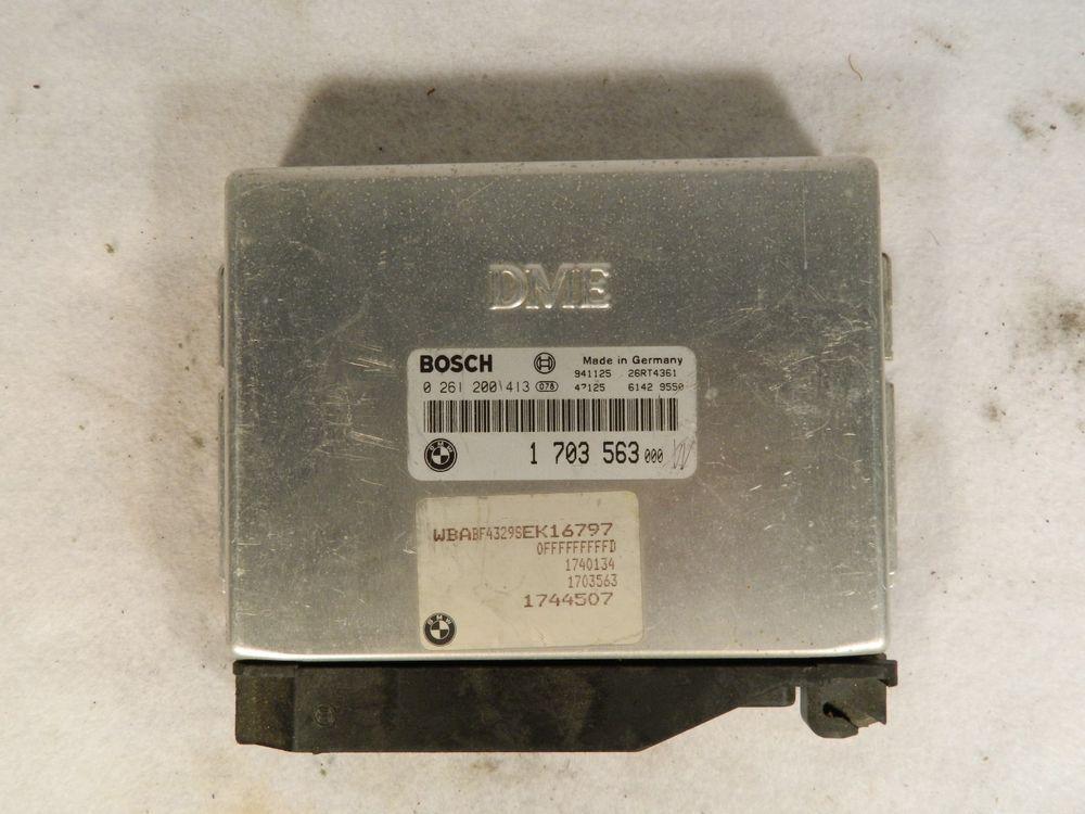 1995 Bmw 525i 0 261 200 413 Ecu Ecm Engine Control Unit 1 703 563 Bosch Engine Control Unit Control Unit Ecu