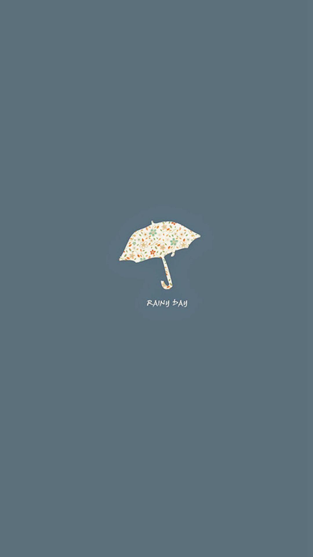 Rainy Day Simple Minimal iPhone 6 plus wallpaper