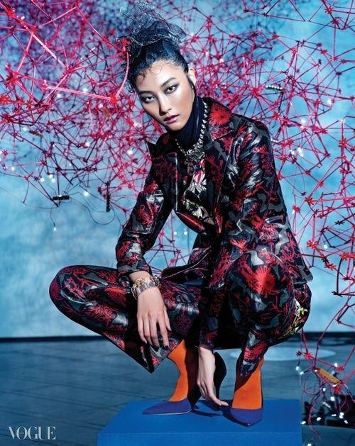"""Cultured Clash"""" Vogue Korea 2014 ♦F&I♦"""