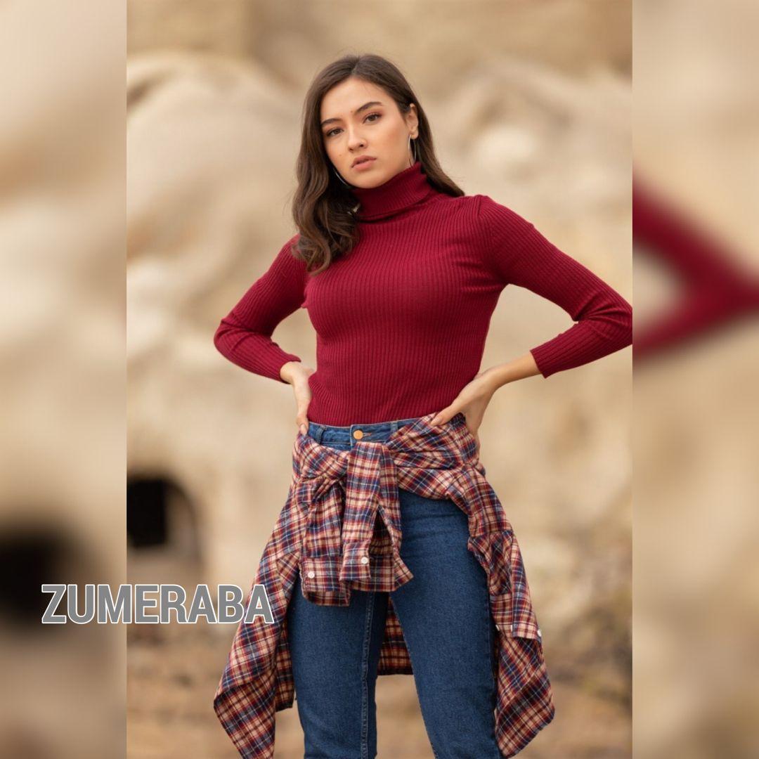 Bogazli Triko Kazak Fashion Hijab Fashion Trendy