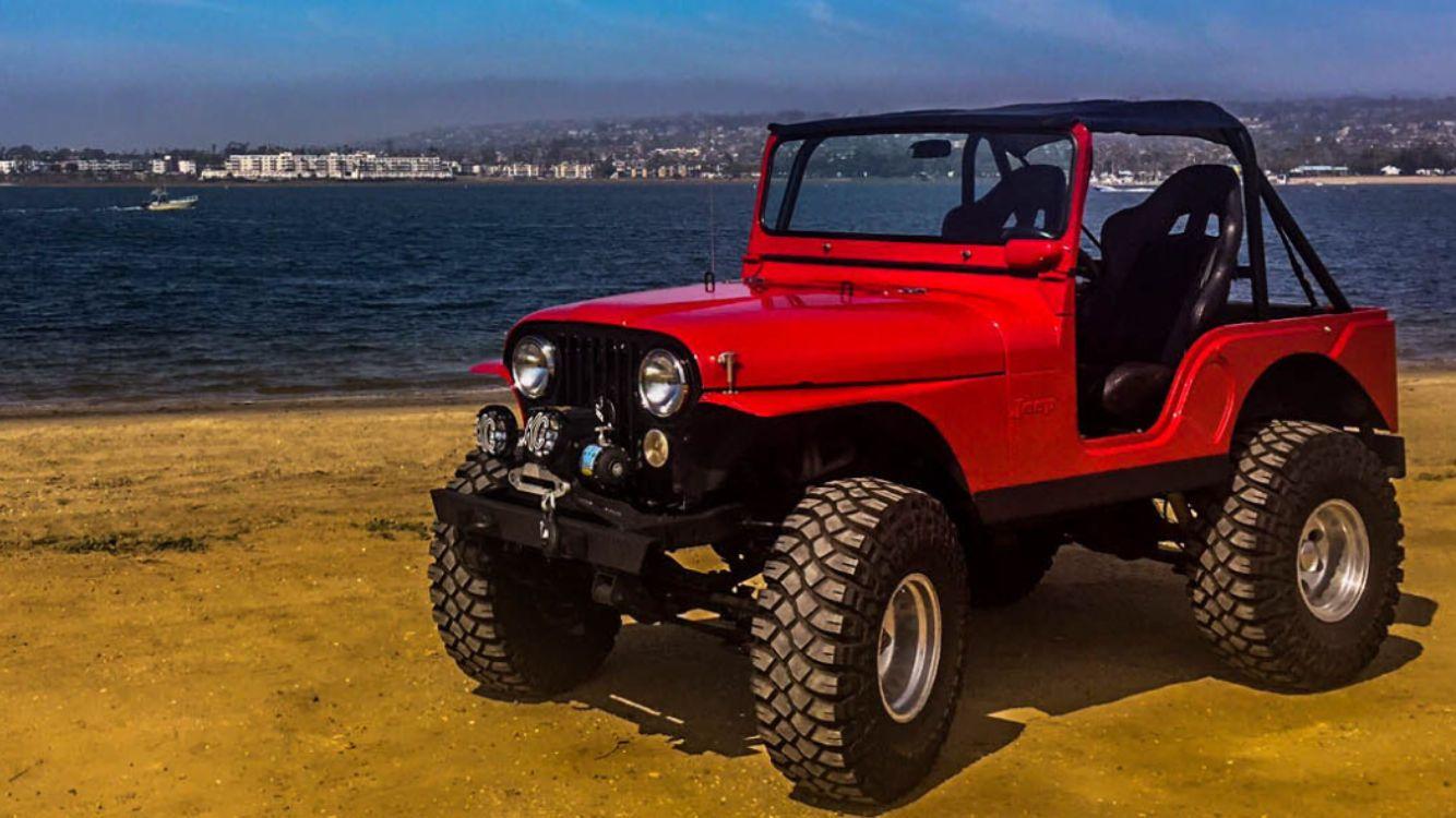 1973 jeep cj cj5 w chevy 350 v8 [ 1334 x 750 Pixel ]