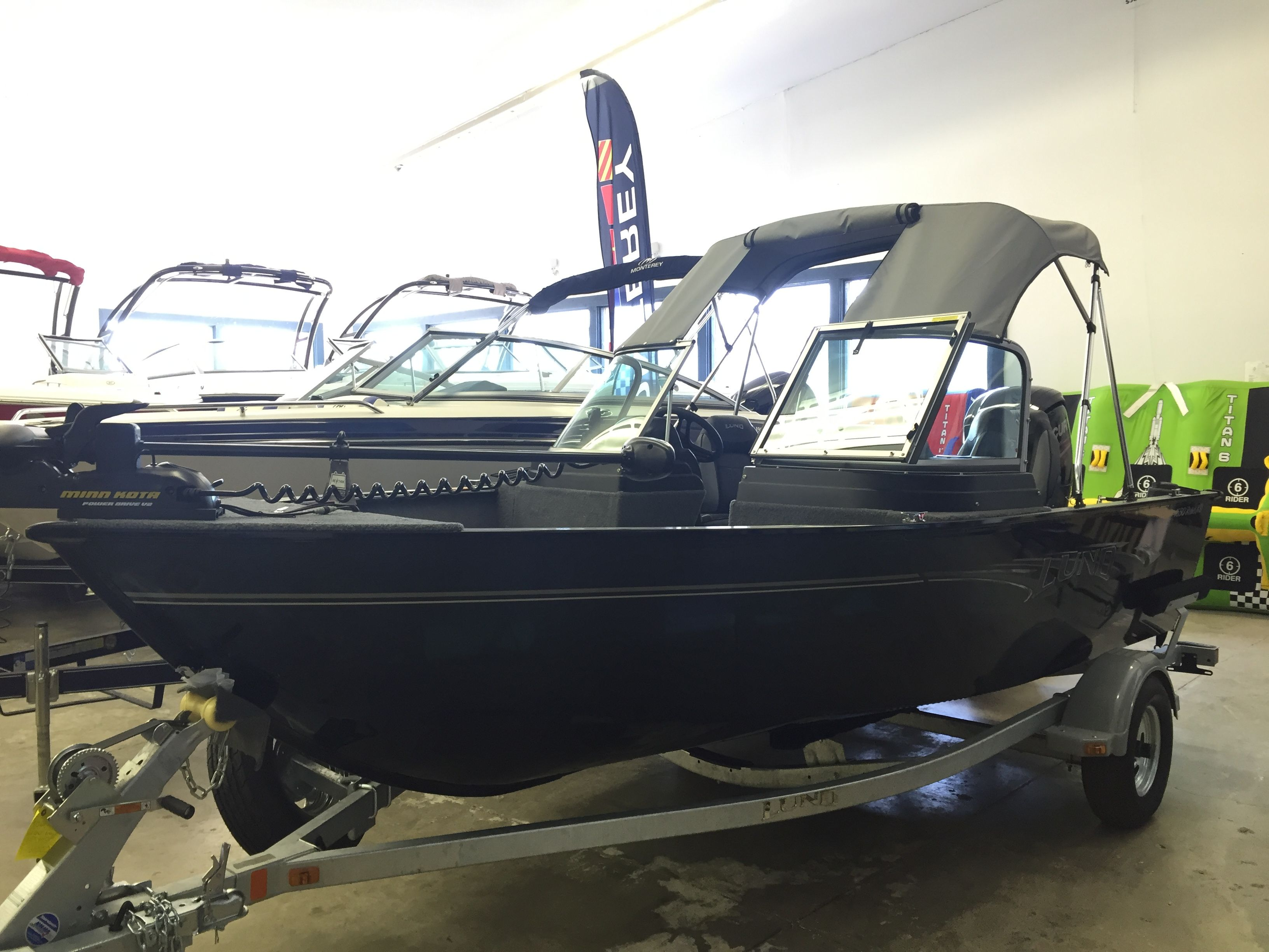 2016 lund 1650 rebel xl sport never before has a small for Small aluminum fishing boats