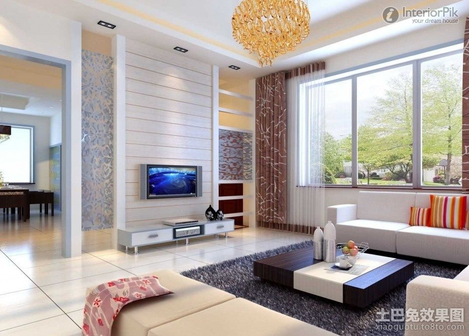 Simple Living Room With Tv Images 3 Simple Living Room Simple Living Room Designs Drawing Room Interior Living room drawing with tv