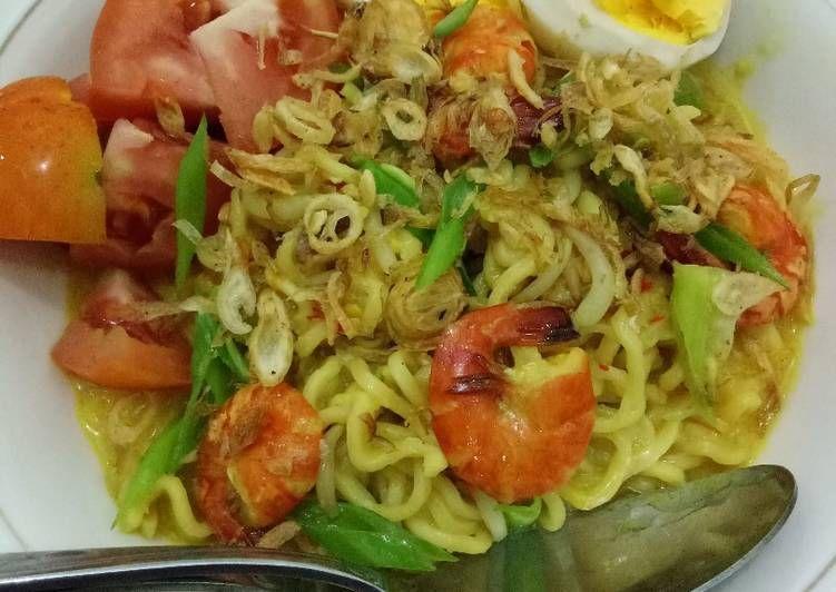 Resep Mie Celor Udang Palembang Oleh Siti Komariyah Resep Resep Masakan Resep Makanan Resep