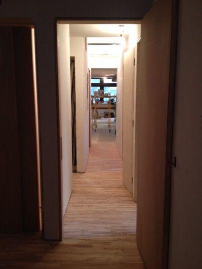 [ #Makingof NYC loft ] The floor is happening at our NYC loft! - Un passo dopo l'altro… ecco un'anticipazione sul pavimento del nostro loft!