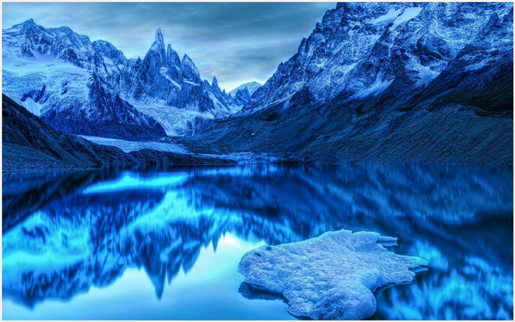 Ice Lake Beautiful Scenery Wallpaper | ice lake beautiful ...