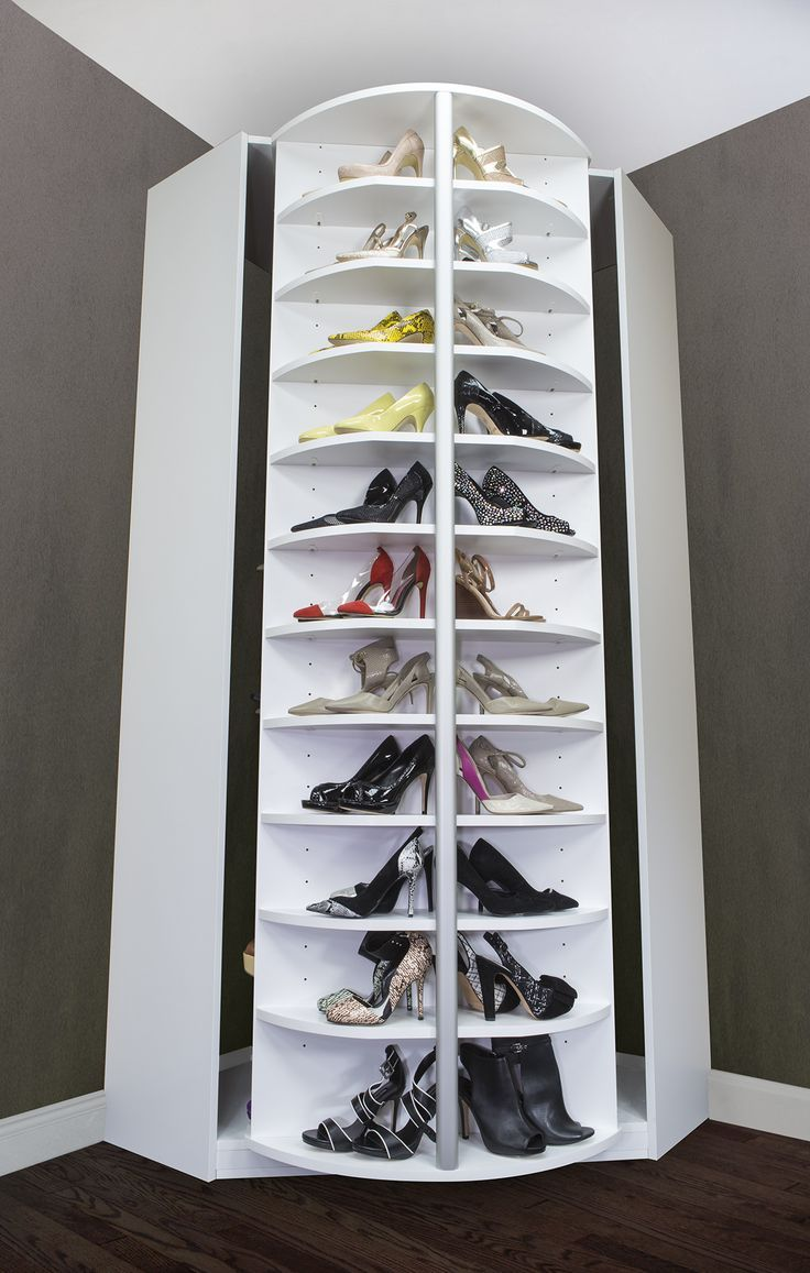 50 Ways to Fight Back Against Shoe Clutter. Closet Shoe StorageShoe  ShelvesShoe ...