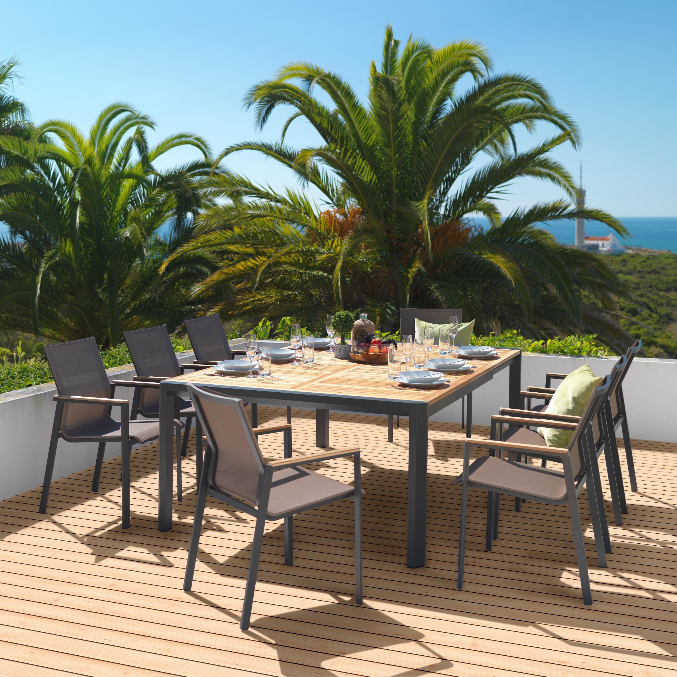 Moderne Sitzgruppe Fur Den Garten Grillpartys Im Freien Geniessen Garten Gartendesign Ideen Gartenmobel