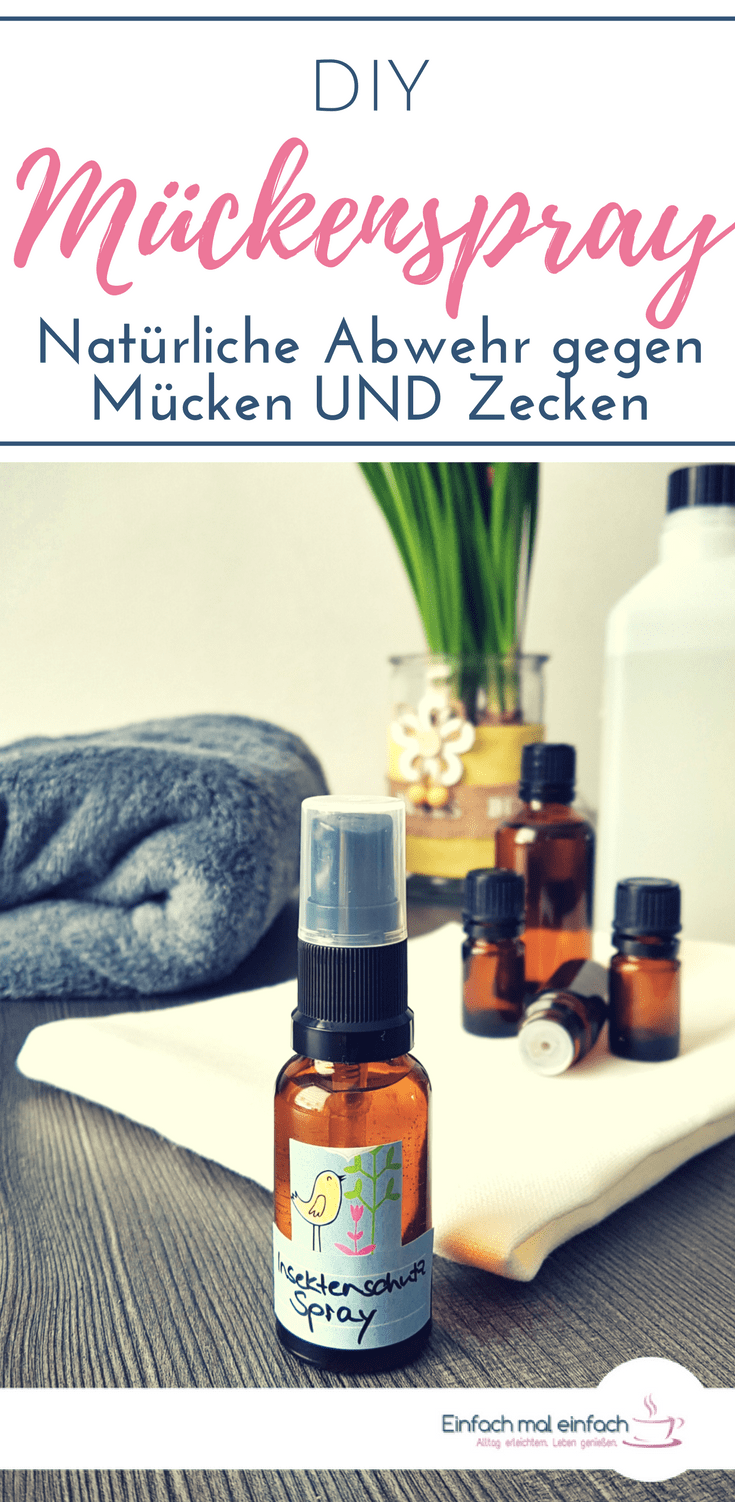 diy m ckenspray nat rliche insektenspray m ckenspray und gegen m cken. Black Bedroom Furniture Sets. Home Design Ideas