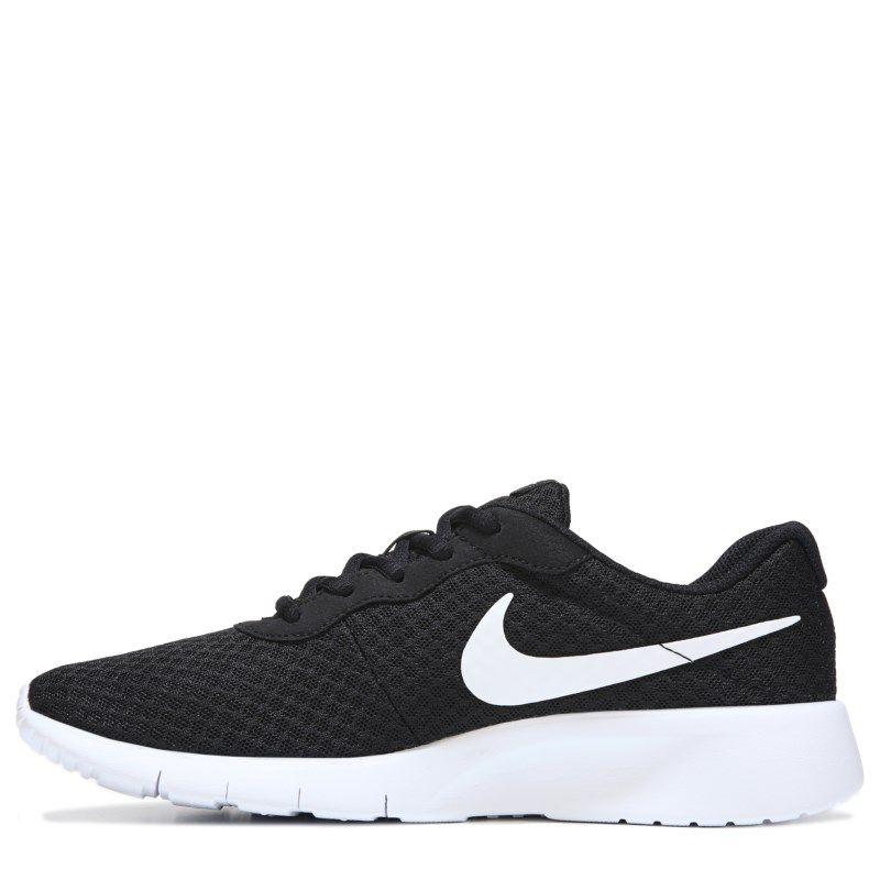 Nike Kids' Tanjun Running Shoe Grade School Shoes (Black/White) - 5.0