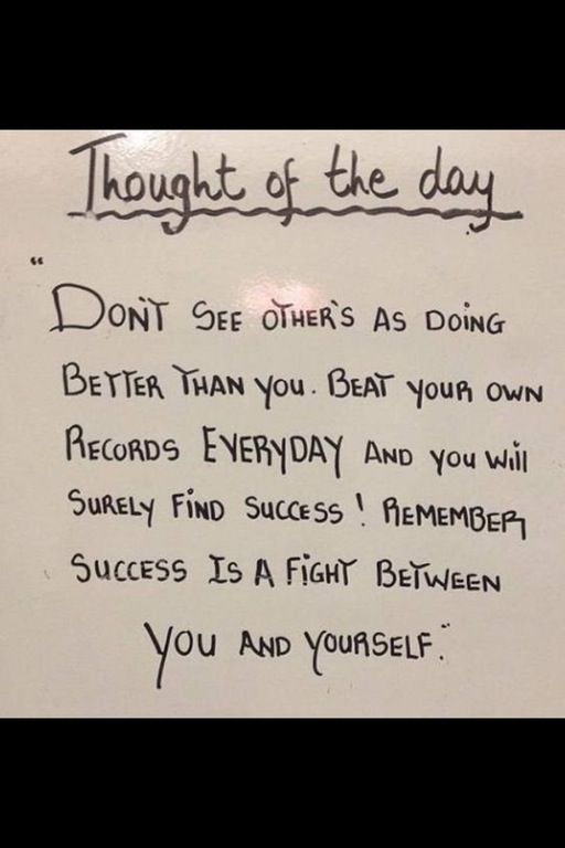 [Image] Success is a fight between you and yourself : GetMotivated