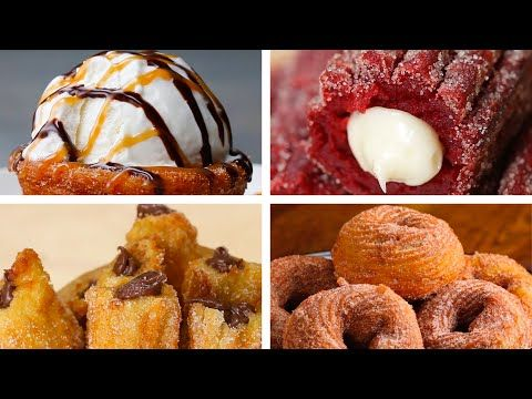 6 Delicious Recipes for Churro Lovers - YouTube #churrocheesecake