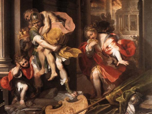 Joe Paterno's Aeneid   Umetnost   Trojan war, Classical