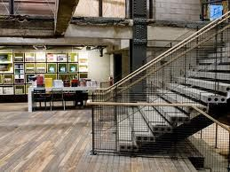 urban metal grid interior - Google Search