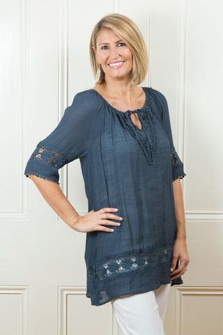 Kaftan In Steel Http Tulio Com Au Collections Tops And Tunics Products Kaftan In Steel With Images Clothes For Women Womens Clothing Stores Clothes