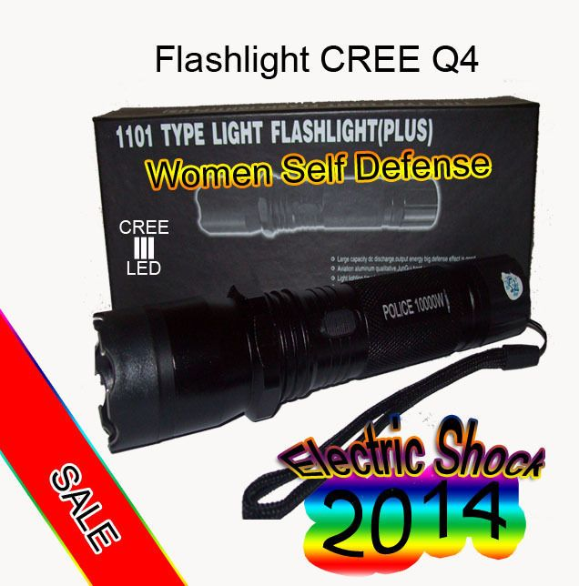 Flashlight Led Crreq4 1101 Newest Model Electric Shock Electric Shock Led Flashlight Flashlight