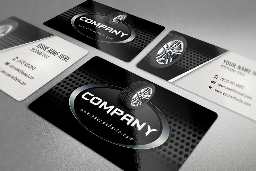 Auto repair business card template tires business card template auto repair business card template tires reheart Images