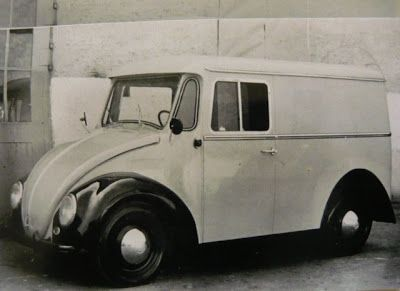 The Old Airs: VW Type 147, Vulgo Fridolin