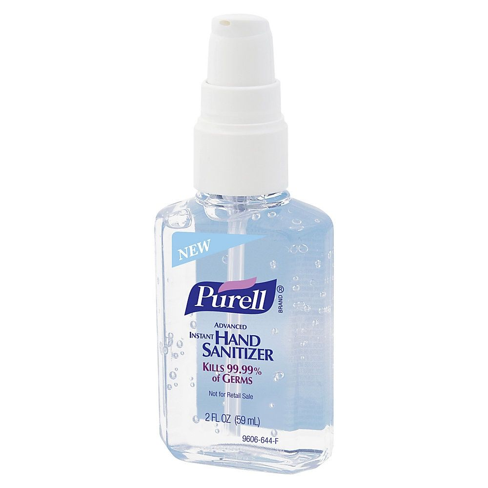 Purell Instant Hand Sanitizer 2 Oz Pump Bottle Hand Sanitizer