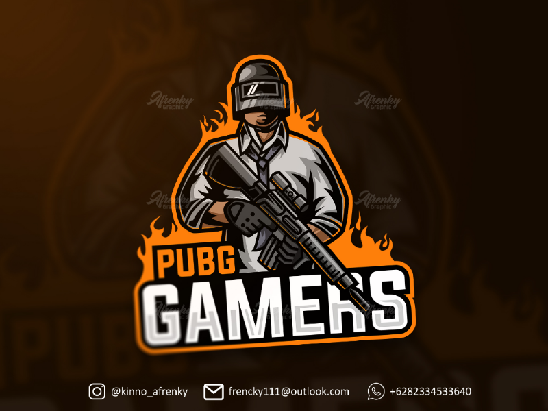 Pubg Gamers Game Logo Design Esports Logo Game Logo