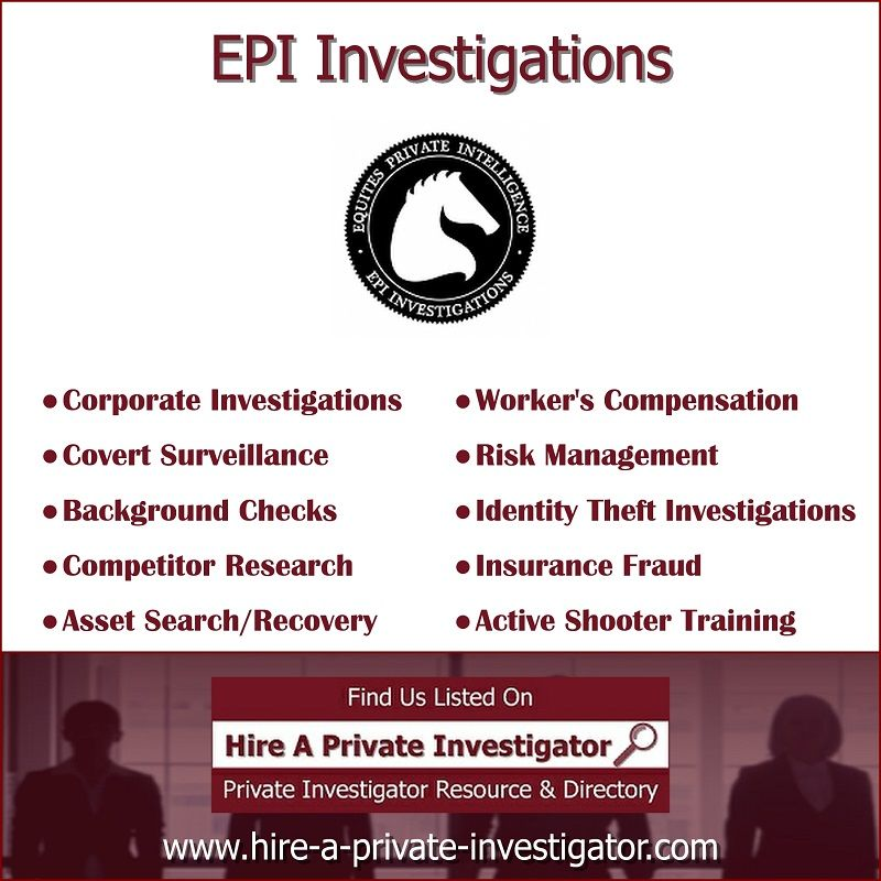 Epi Investigations Top Private Investigator In Sioux Falls South