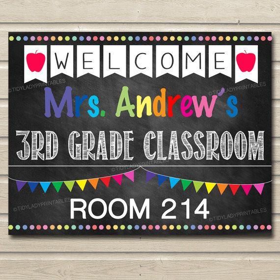 editable teacher classroom door sign classroom decor teacher