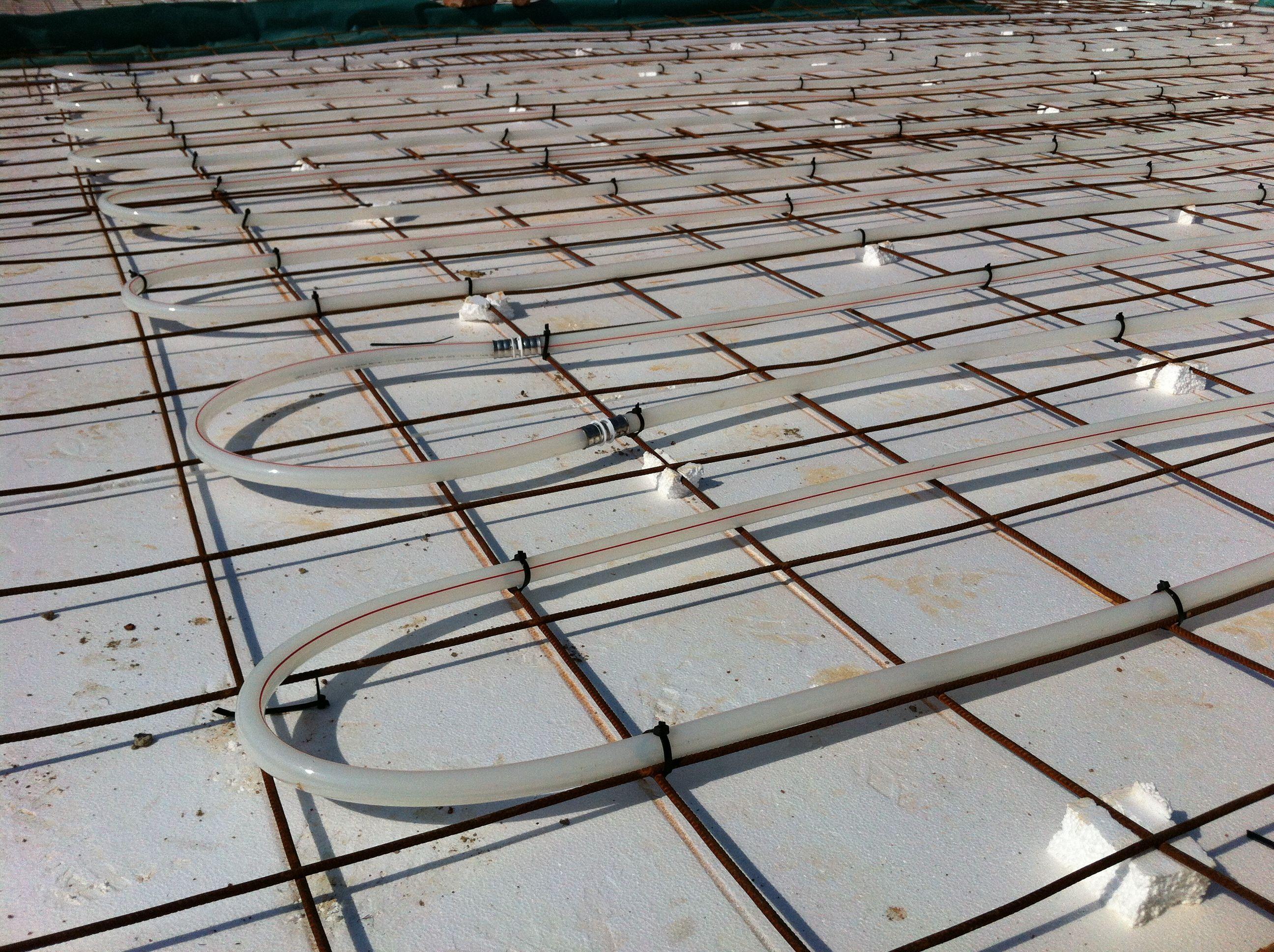 medium resolution of we added eco friendly underfloor heating hot water
