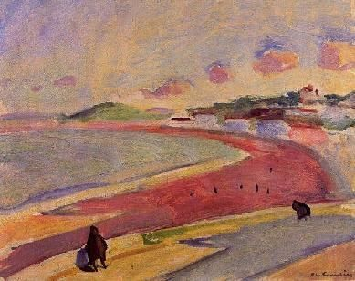 Beach at Tangiers ( 1913 ), Charles Camoin