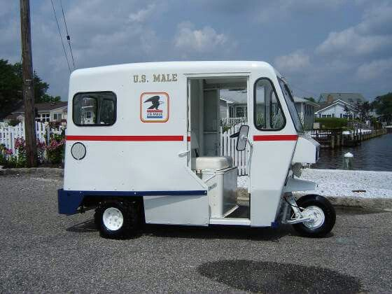 Cushman Mail Truck Mail Truck Hot Rods Cars Muscle Vehicles