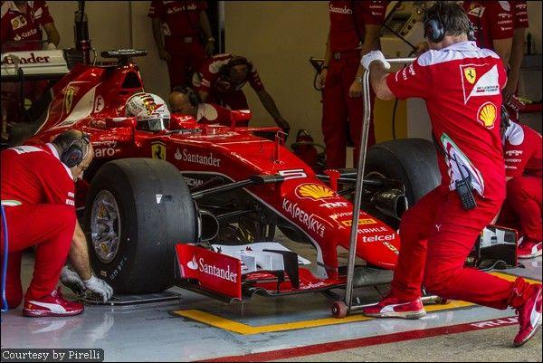 Vettel prova le slicks 2017: 156 giri al Montmelò