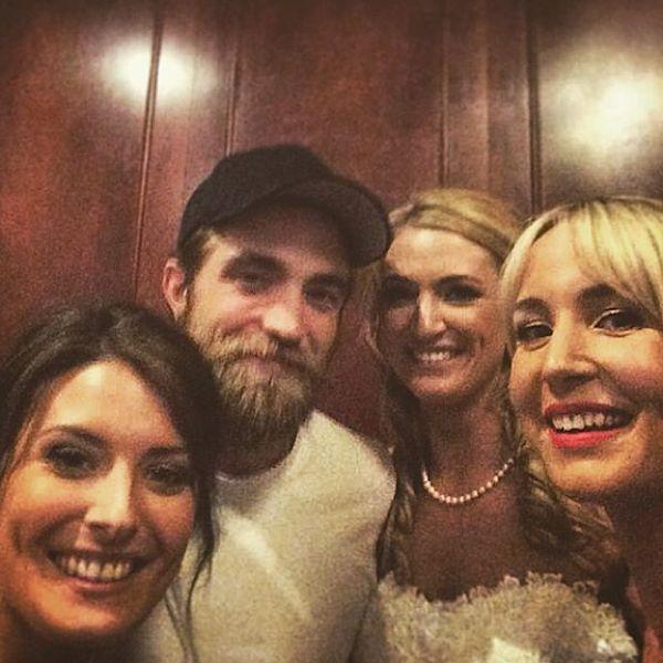 Robert Pattinson Wedding Crasher. Image: Instagram
