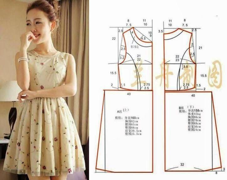 Moda e Dicas de Costura: VESTIDO FÁCIL DE FAZER - 2 | vestidos ...