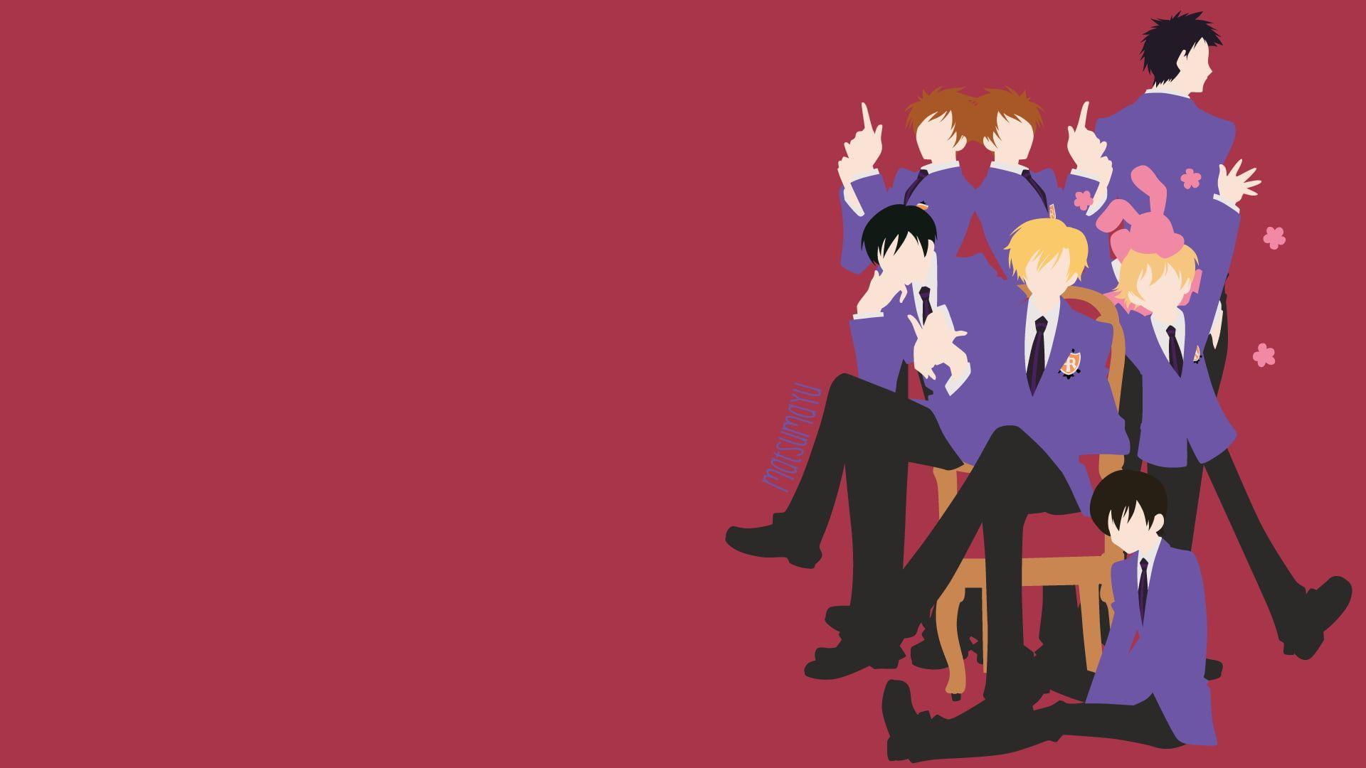 Anime Ouran High School Host Club Haruhi Fujioka Hikaru Hitachiin