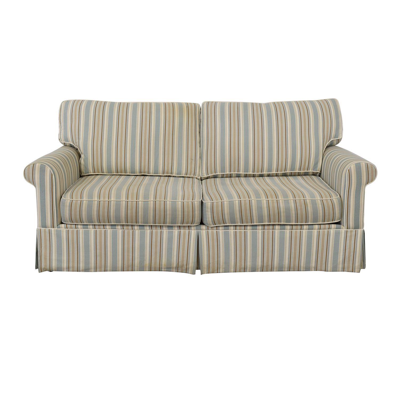 Alan White Striped Sofa Striped Sofa Sofa Alan White