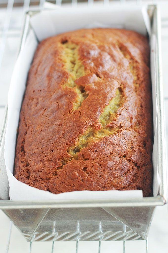 Banana bread hyper moelleux (cake à la banane américain) #bananabread