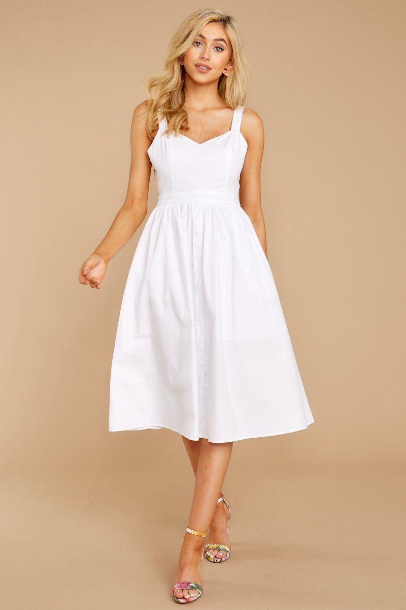Charming White Midi Dress Flowy Tie Back Sundress Dress 62 00 Red Dress Boutique White Dress Red Dress Women White Midi Dress [ 1200 x 800 Pixel ]